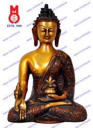 Lord Buddha Medicine Dragon without Base Statue