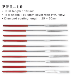 Diamond Needle File PFL-10