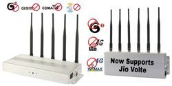 Best cell phone jammer - Security Protection High Power Portable Wireless Signal Jammer With Inner Battery
