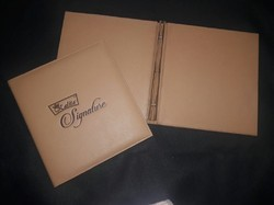 Leather Menu Cover Brown