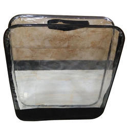 Transparent PVC clear bag with zipper