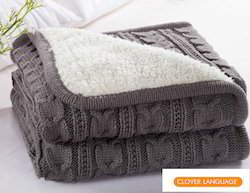 Cotton Knitted Throws