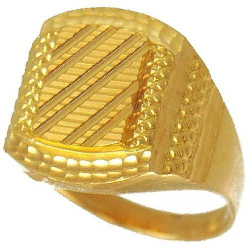Gold Rings Mens Gold Ring Manufacturer from Ahmedabad