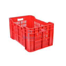 Red Vegetable Crates. Get Best Quote