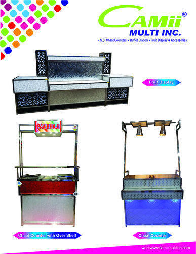 Stainless Steel Catering Counters Chaat Counter