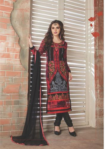 Latest Embroidered Party Wear Suit