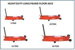 Heavy Duty Long Frame Floor Jack 10 Ton JM 703 04