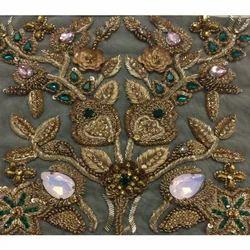 Dabka Zardozi Embroidery Work