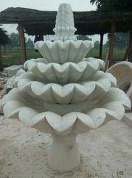 Stone Lotus Fountain