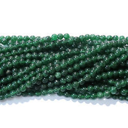 Green Aventurine Smooth Gemstone Beads