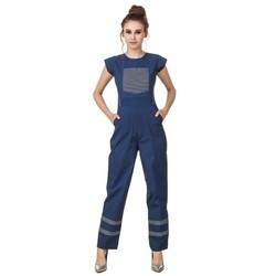Cotton Ladies Jumpsuit