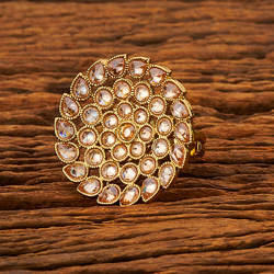 Antique Classic Finger Ring in Bollywood Style 19410