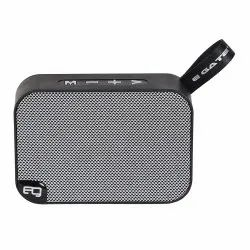 Egate Bond B303 Portable Bluetooth Speaker with Deep Bass and Mic (Grey)