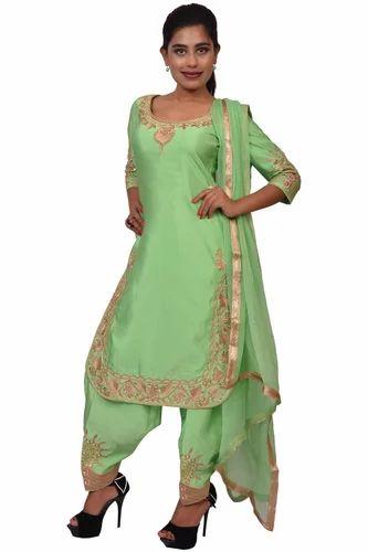 cb46b809274 Ladies Designer Salwar Suit - Party Wear suit Manufacturer from Jalandhar