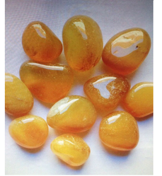 Yellow Onyx Pebbles