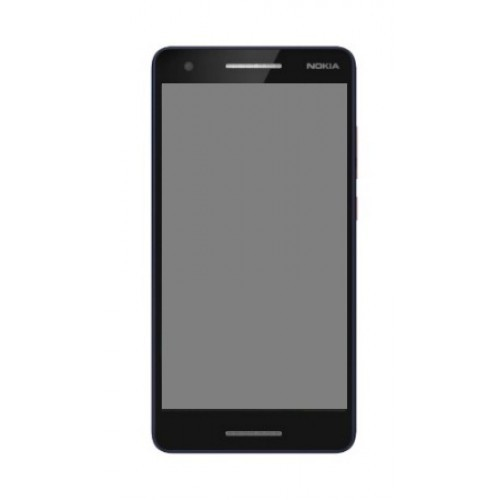 Nokia 2 Mobile LCD With Touch Screen Combo Black
