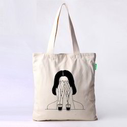 One Side Printed Cotton Bags