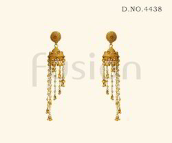 Fashion Designer Jhumka Earrings