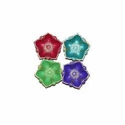 Flower Design Diwali Diya