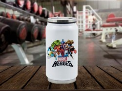 Printed Stainless Steel Coke Can Sport Sipper