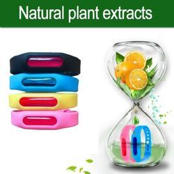 Natural Plant Extract Anti-Mosquito Silicon Wrist Band