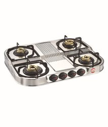 4 Burner Gas Stove MHA 454 Double Decker