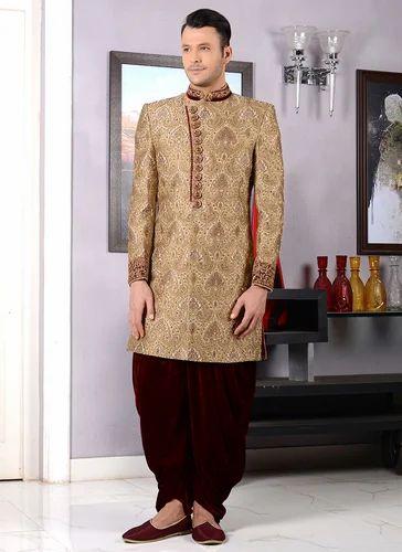 c6e1ca7ea1 Mens Sherwani - Cream Imperial Sherwani Manufacturer from Hyderabad