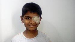 orthoptic eye Patch