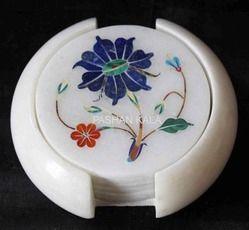 Inlay Marble Coasters