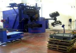 3 Arm Biaxial Rotomoulding Machine