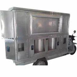 Milk Van and Water ATM E-Rickshaw
