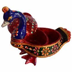 Wooden Meena Peacock Chopra