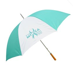 Exibu Promotional Golf Umbrella (Wooden Handle)