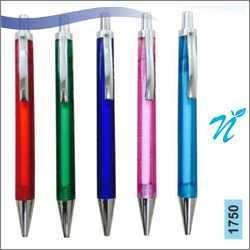 Plastic Transparent Ball Pen