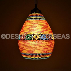 Stylish Mosaic Hanging Light
