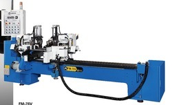 Double Tube End Chamfering and Length Measuring Machine