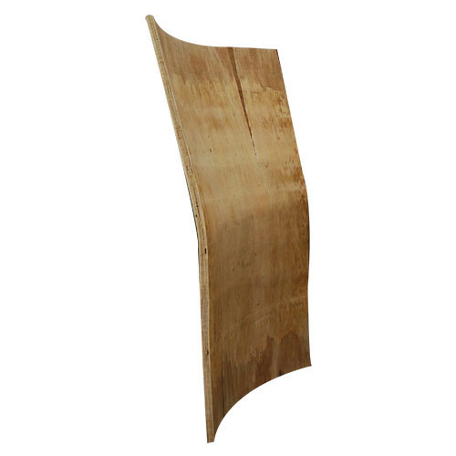 wooden curved sheet seat shell chair curved back part