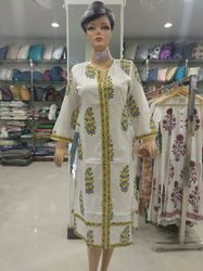 Block Printed Kurties