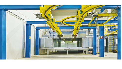 Overhead Conveyor System For Industries Manufacturer From