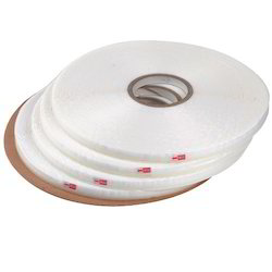 Euro White Double Sided Bag Sealing Tapes, Length : 0-10 M, 10-20 M