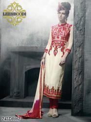 Designer Semi Stitched Ladies Suit