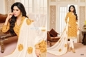 Collar Neck Mallika Suit Salwar Fabric
