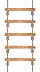 Wood Rope Ladder