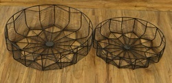 Iron Wire Storage Baskets