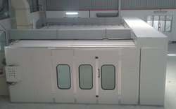 Commercial Automotive Paint Booth