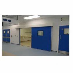 Hygienic Sliding GRP Fire Doors