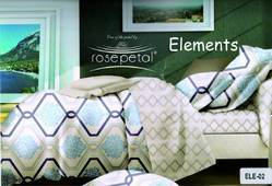 Element Bed Sheet ( Rosepetal)