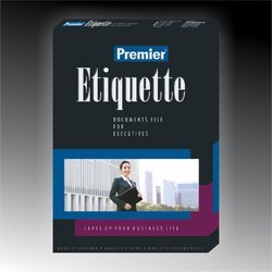 Etiquette Document Folder