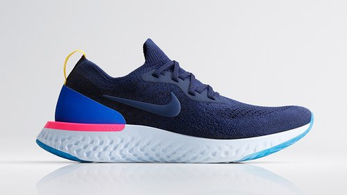 Nike React Blue Shoes, Size: 7-10, Rs