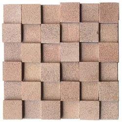 Autumn Brown Sandstone Antique Mosaic Tile / wall cladding tile
